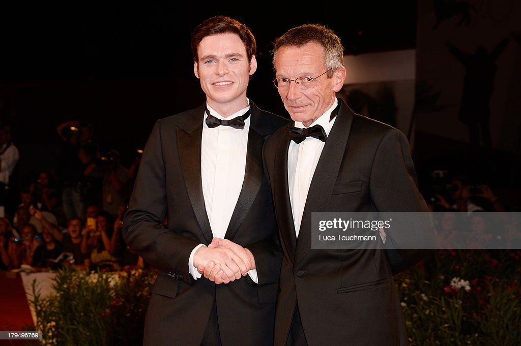 Richard Madden and Patrice Leconte attend 'Une Promesse' Premiere during the 70th Venice International Film Festival at Sala Grande on September 4...