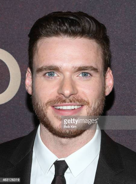Richard Madden attends the 'Klondike' series premiere at Best Buy Theater on January 16 2014 in New York City