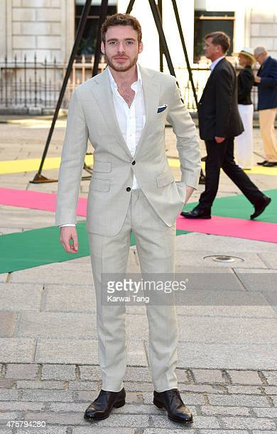 Richard Madden attends the Royal Academy of Arts Summer Exhibition at the Royal Academy on June 3 2015 in London England