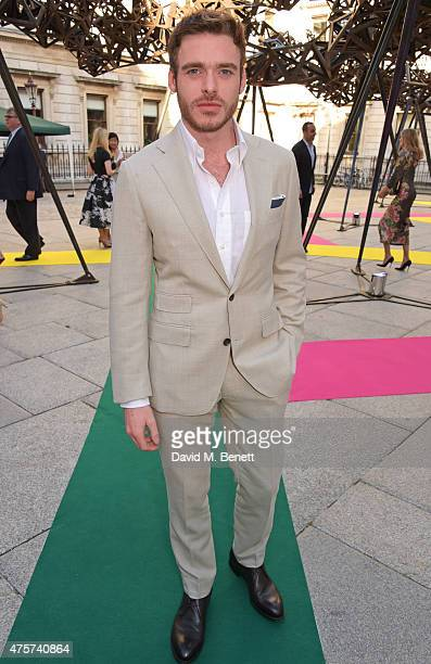 Richard Madden attends the Royal Academy of Arts Summer Exhibition preview party at the Royal Academy of Arts on June 3 2015 in London England
