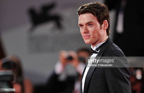 Richard Madden attends 'Une Promesse' Premiere at the 70th Venice International Film Festival on September 4 2013 in Venice Italy