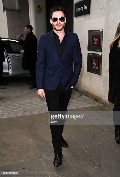 Richard Madden sighting at BBC Radio 1 on March 19 2015 in London England
