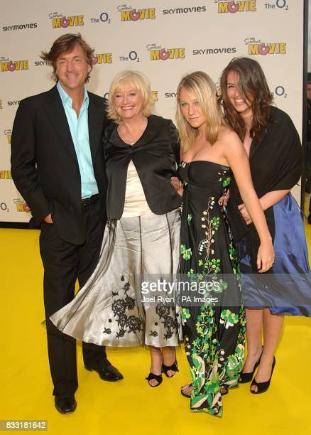 Richard Madeley Judy Finnigan and family arrive for the UK Premiere of The Simpsons Movie at the Vue Cinema The O2 Peninsula Square London