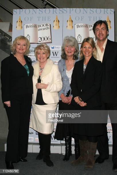 Richard Madeley Judy Finnigan Jilly Cooper Kate Mosse and Gloria Hunniford