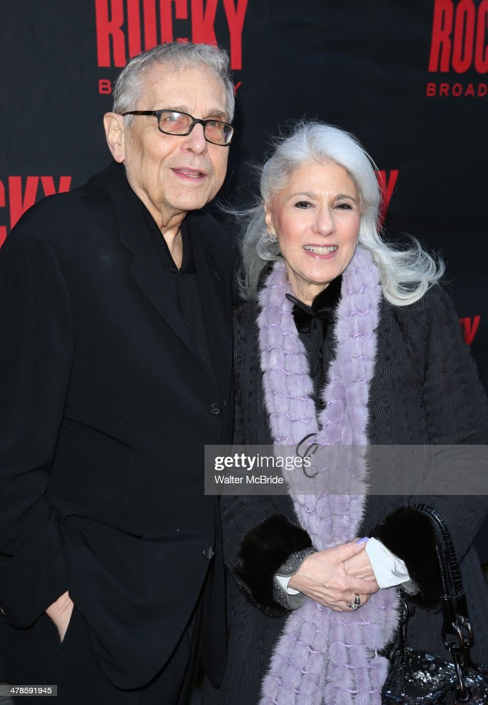 Richard Maltby Jr. and Jamie deRoy attend the 'Rocky' Broadway Opening Night at Winter Garden Theatre on March 13, 2014 in New York City.