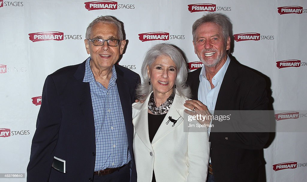Richard Maltby Jr., Jamie deRoy and singer Larry Gatlin attend the 'Poor Behavior' Opening Night after party at Casa Nonna on August 17, 2014 in New York City.