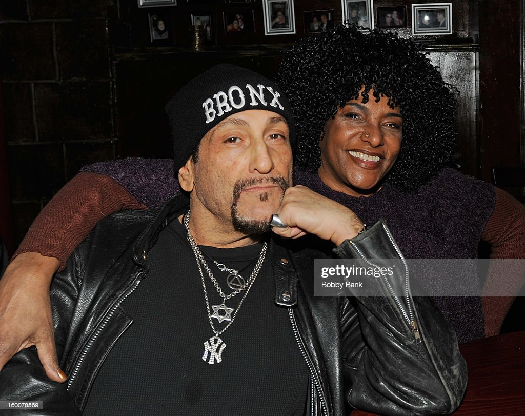 Richard Manitoba and LaLa Brooks performs at The Cutting Room on January 25, 2013 in New York, New York.