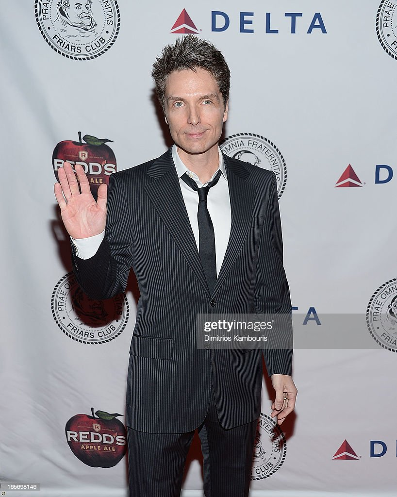 <a gi-track='captionPersonalityLinkClicked' href=/galleries/search?phrase=Richard+Marx&family=editorial&specificpeople=227408 ng-click='$event.stopPropagation()'>Richard Marx</a> attends The Friars Club Roast Honors Jack Black at New York Hilton and Towers on April 5, 2013 in New York City.