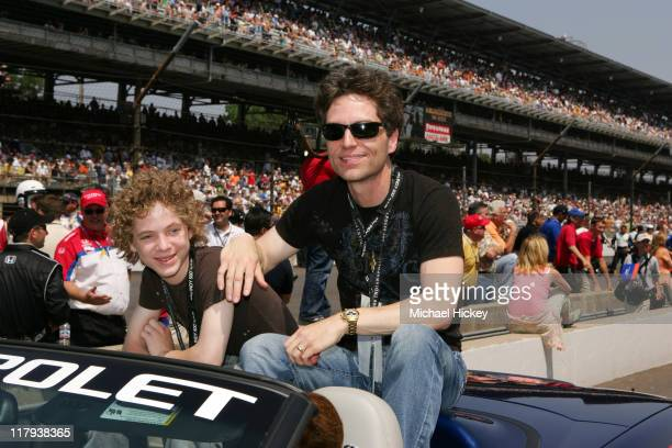 Richard Marx during Indianapolis 500 90th Running Race Day at Indianapolis Motor Speedway in Indianapolis Indiana United States