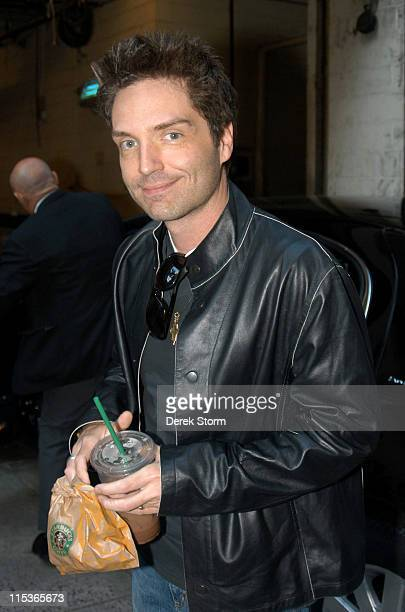 Richard Marx during Victoria Gotti and Richard Marx Visit 'Live with Regis Kelly' August 9 2004 at ABC Studios in New York City New York United States