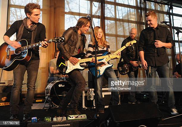 Richard Marx Keith Urban YouTube Kids Leslie Strong Patrick Woolam attend the BMI ASCAP Party For 'Long Hot Summer' written by Keith Urban and...