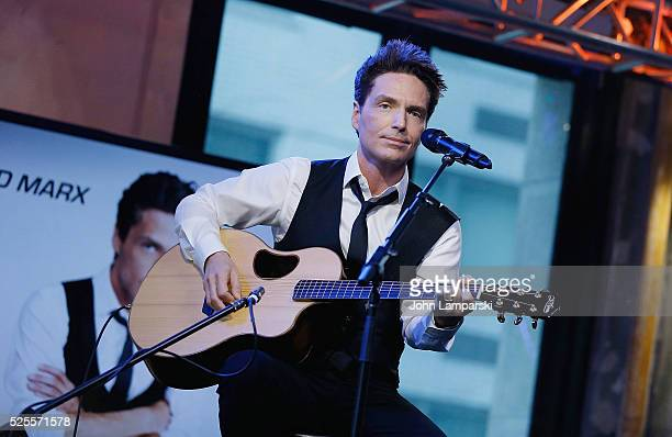 Richard Marx performs at AOL Build Speaker Series at AOL Studios In New York on April 28 2016 in New York City