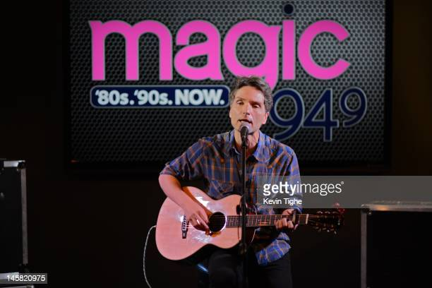 Richard Marx performs during a private Magic 949 FM concert at the floridacentral Credit Union Theatre on June 6 2012 in Tampa Florida