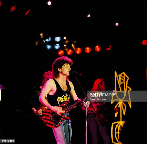 Richard Marx performs on stage at the Montreux Rock Festival held in Montreux Switzerland in May 1988