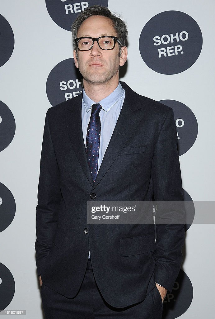 Richard Maxwell attends Soho Rep's 2014 Spring Fete at The Angel Orensanz Foundation on March 31, 2014 in New York City.
