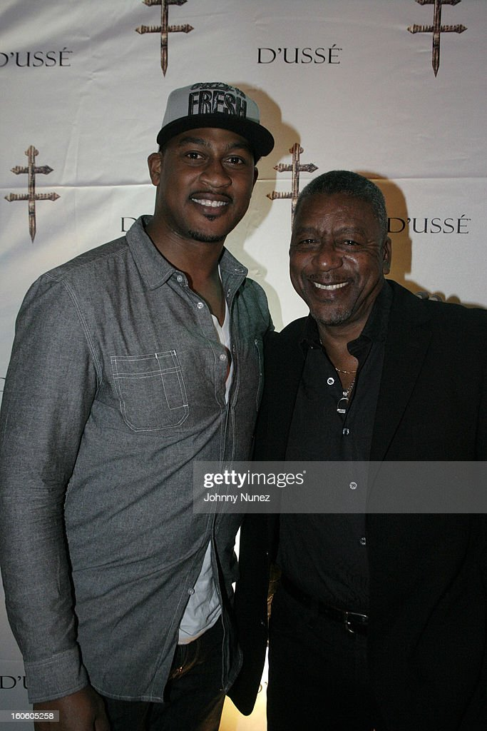 Richard McLeod and Bob Johnson attend the Jay-Z & D'Usse Super Bowl Party at The Republic on February 2, 2013, in New Orleans, Louisiana.