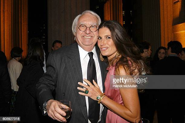 Richard Meier and Elizabeth Saltzman Walker attend VANITY FAIR Tribeca Film Festival Party hosted by Graydon Carter and Robert DeNiro at The State...