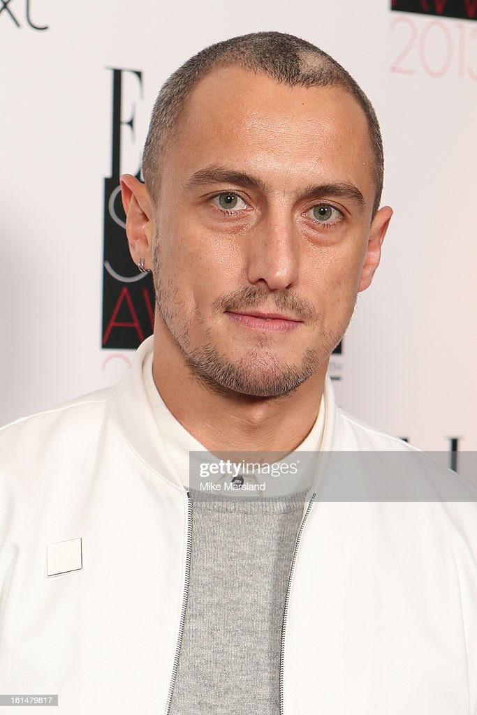 Richard Nicoll attends the Elle Style Awards 2013 at The Savoy Hotel on February 11, 2013 in London, England.