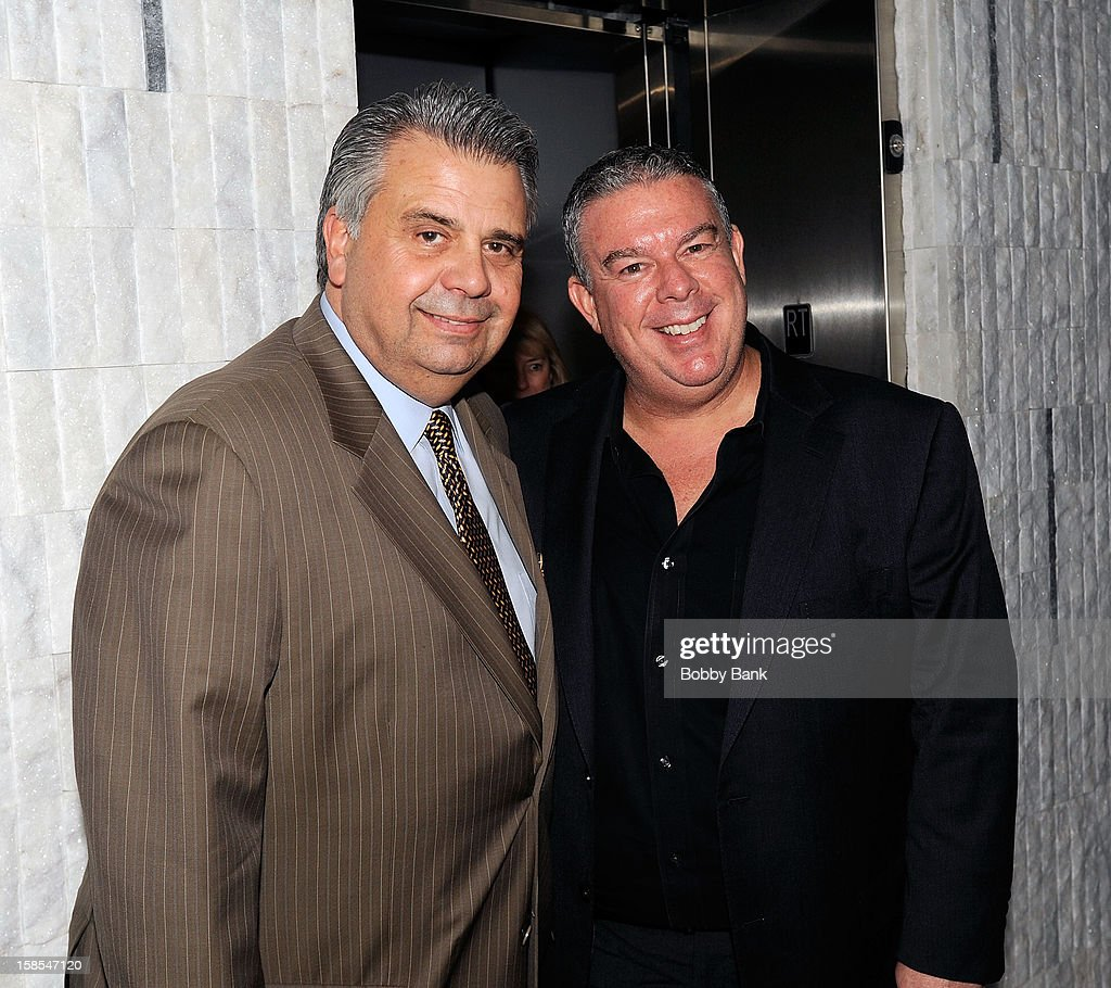 Richard Nicotra of the Staten Island Hilton and Elvis Duran attends 2012 Staten Island Zoo Christmas Party Hosted By Elvis Duran at Staten Island Hilton on December 18, 2012 in New York City.