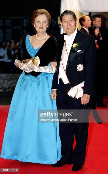 Richard Nigel Christa Maria Manley Attend The Wedding Of Prince Joachim Princess Alexandra Of Denmark At Frederiksborg Castle