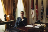 Richard Nixon in United States in the 1970s in the Oval Office