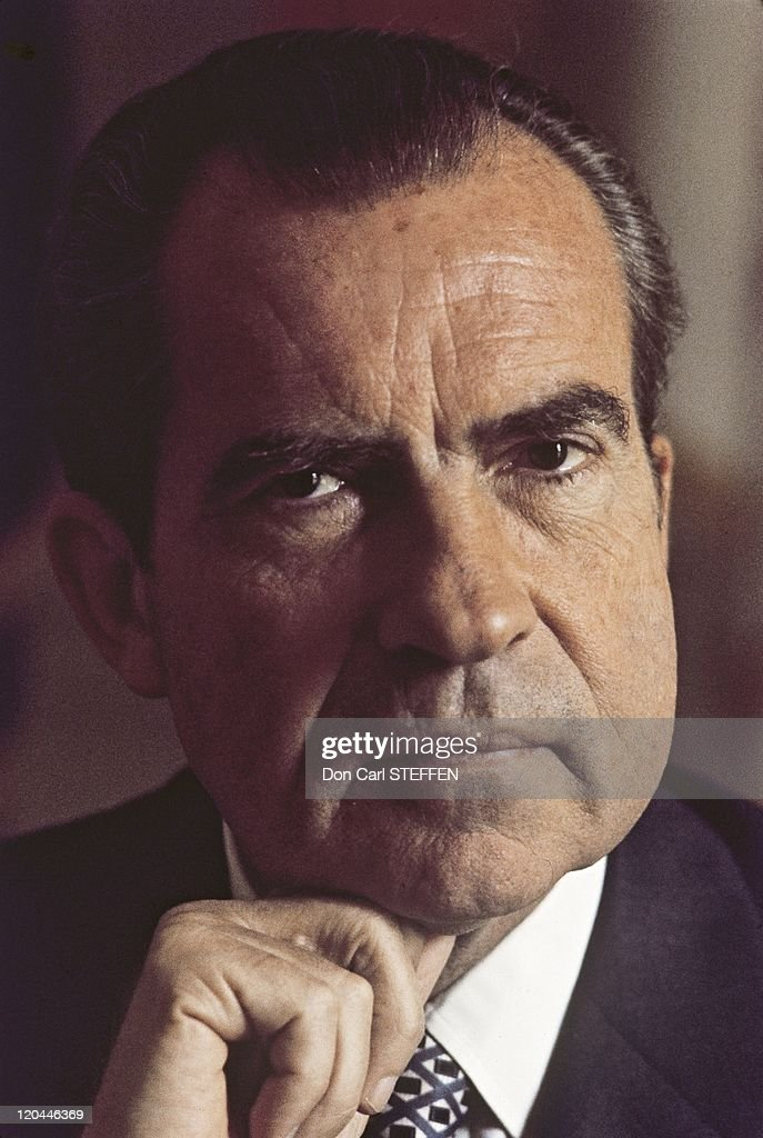 <a gi-track='captionPersonalityLinkClicked' href=/galleries/search?phrase=Richard+Nixon&family=editorial&specificpeople=92456 ng-click='$event.stopPropagation()'>Richard Nixon</a> in United States in the 1970s.