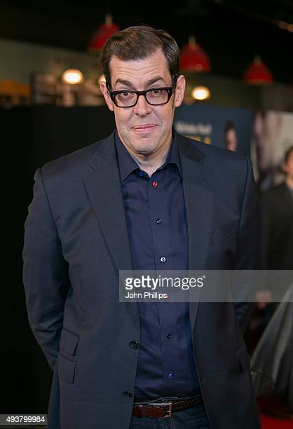 Richard Osman attends the 'Kill Your Friends' UK Premiere at Picturehouse Central on October 22 2015 in London England