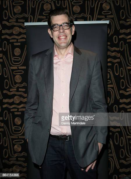 Richard Osman attends the screening of Murder In Successville on April 3 2017 in London United Kingdom