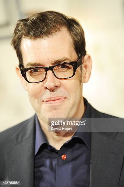 Richard Osman attends the UK Premiere of 'Kill Your Friends' at Picturehouse Central on October 22 2015 in London England