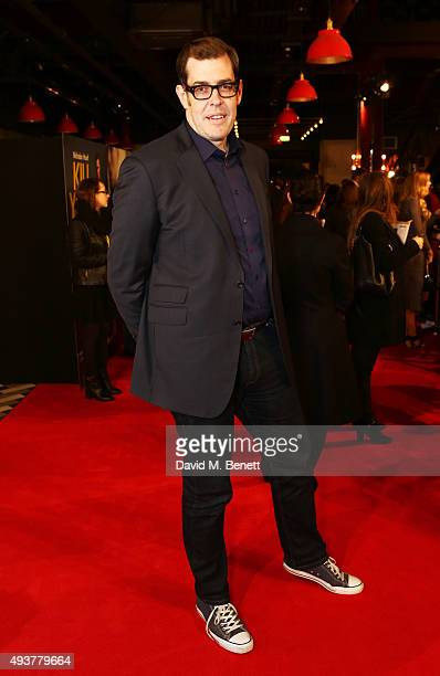 Richard Osman attends the UK Premiere of 'Kill Your Friends' at the Picturehouse Central on October 22 2015 in London England