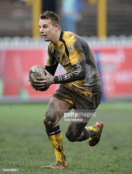 Richard Owen of Tigers during the Super League match between Castleford Tigers and London Broncos at Wish Communications Stadium on March 17 2013 in...