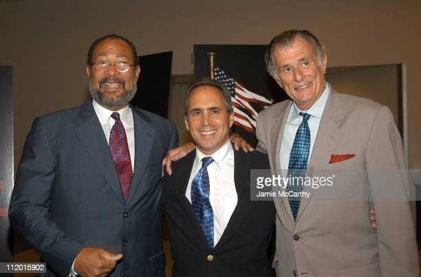 Richard Parsons Ross Greenburg president HBO Sports and Frank DeFord