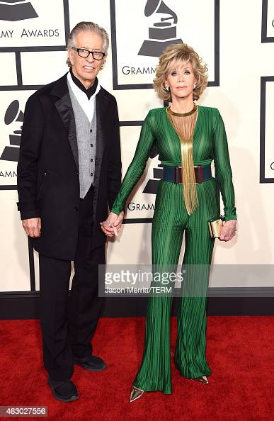Richard Perry and actress Jane Fonda attend The 57th Annual GRAMMY Awards at the STAPLES Center on February 8 2015 in Los Angeles California