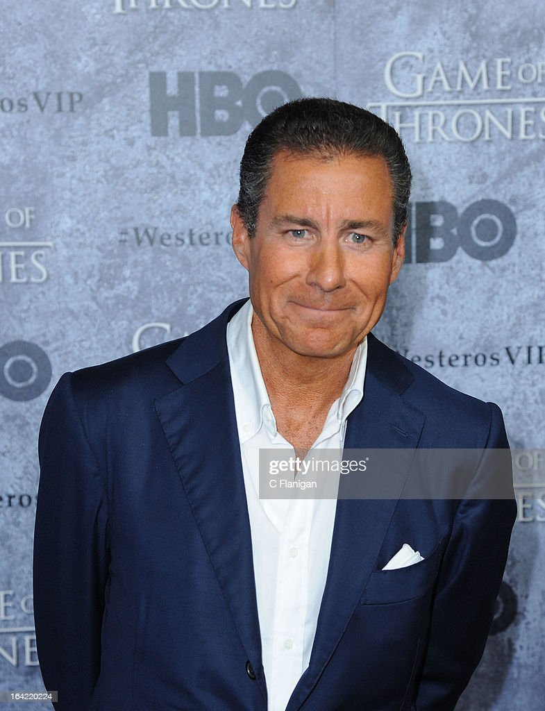 Richard Plepler arrives at the San Francisco Premiere For HBO's 'Game Of Thrones' Season 3 at Palace Of Fine Arts Theater on March 20, 2013 in San Francisco, California.