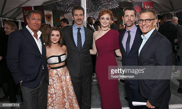 Richard Plepler Maisie Williams Creator/Executive Producer David Benioff Sophie Turner Creator/Executive Producer Dan Weiss and HBO Programming...