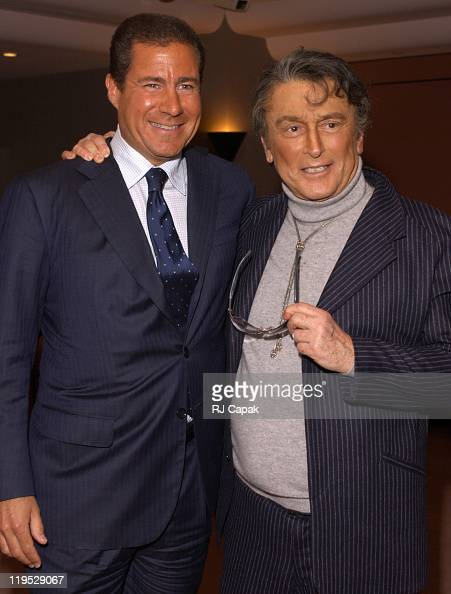 Richard Plepler Robert Evans during Special Screening of The HBO Presentation 'The Kid Stays In The Picture' at AOL Time Warner Screening Room in New...