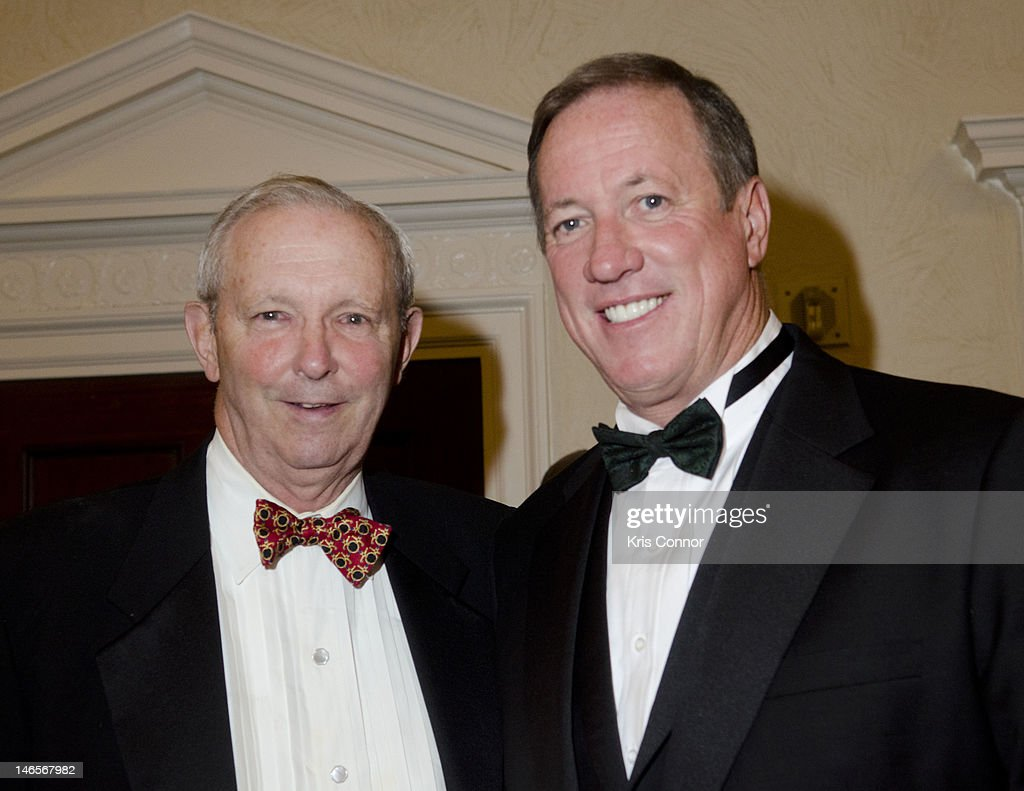 Richard Proudfit and Sam Beard pose for a photo during the 40th Annual Jefferson Awards on June 19, 2012 in Washington, United States.