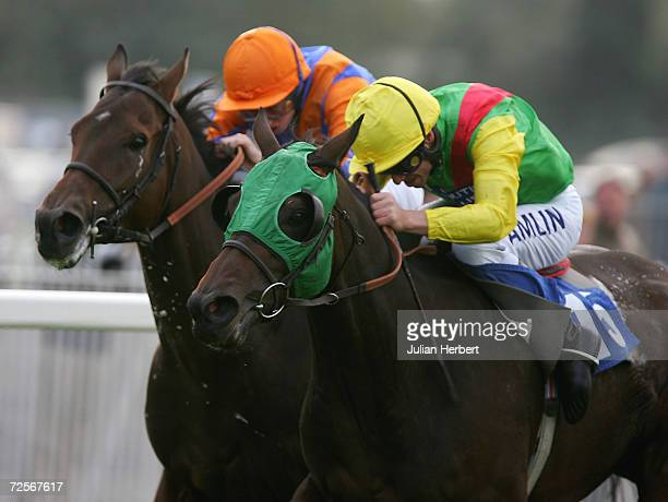 Richard Quinn and Best Be Going get the better of the Ryan Moore ridden Diego Cao to land The toteexacta Handicap Stakes Race run at Windsor...