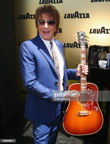 Richard 'Richie' Sambora attends the Lavazza marquee during Melbourne Cup Day at Flemington Racecourse on November 5 2013 in Melbourne Australia
