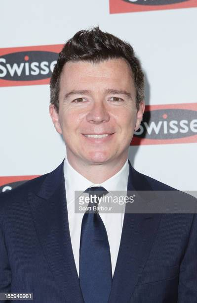 Richard 'Rick' Astley attends Stakes Day at Flemington Racecourse on November 10 2012 in Melbourne Australia