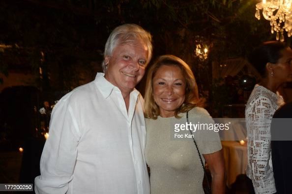 Richard Roizen and Mrs Roizen attend the Massimo Gargia's Birthday Dinner at Moulins de Ramatuelle on August 21 2013 in Saint Tropez France