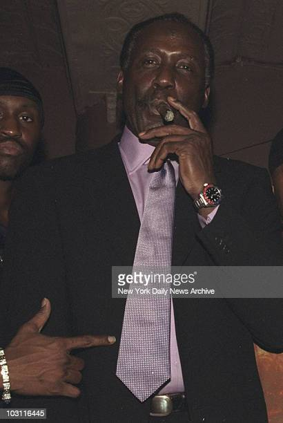 Richard Roundtree at party for the movie 'Shaft' held at Centro Fly