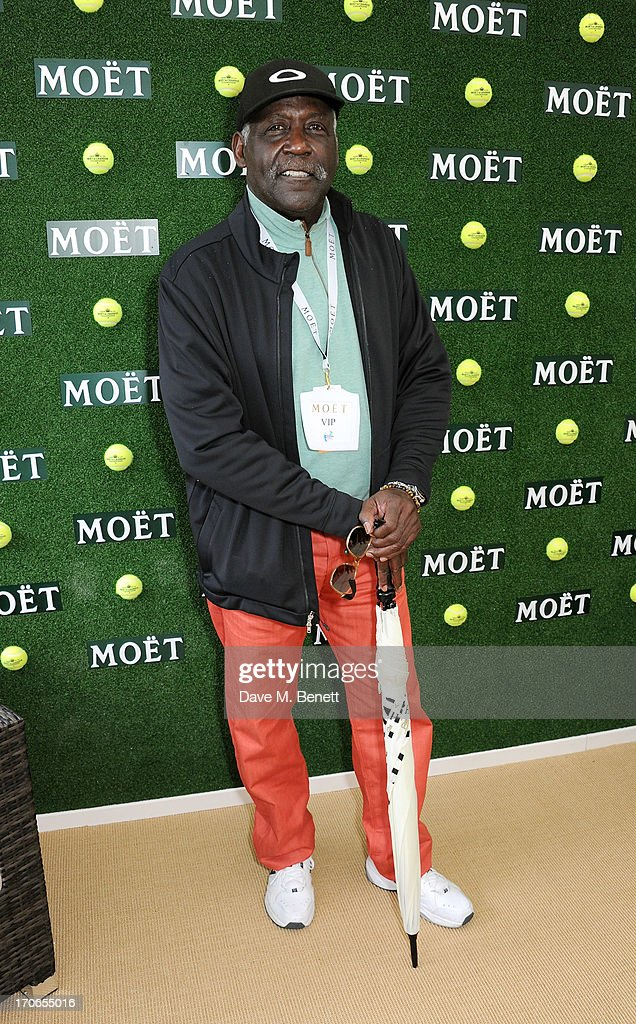<a gi-track='captionPersonalityLinkClicked' href=/galleries/search?phrase=Richard+Roundtree&family=editorial&specificpeople=618703 ng-click='$event.stopPropagation()'>Richard Roundtree</a> attends The Moet & Chandon Suite at The Aegon Championships Queens Club finals on June 16, 2013 in London, England.