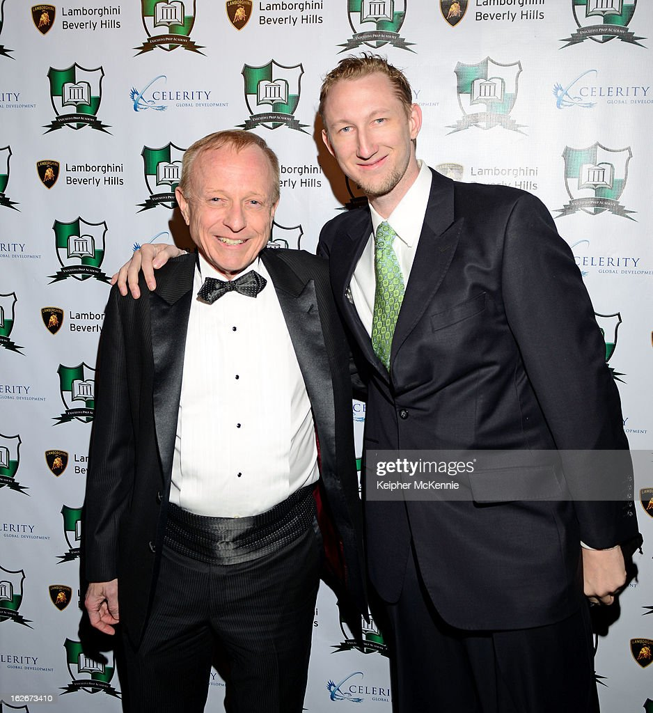 Richard Rozman and guest attends the Executive Preparatory Academy Of Finance's 'Reason To Believe' Inaugural Charity Fundraising Gala at Vibiana on February 20, 2013 in Los Angeles, California.