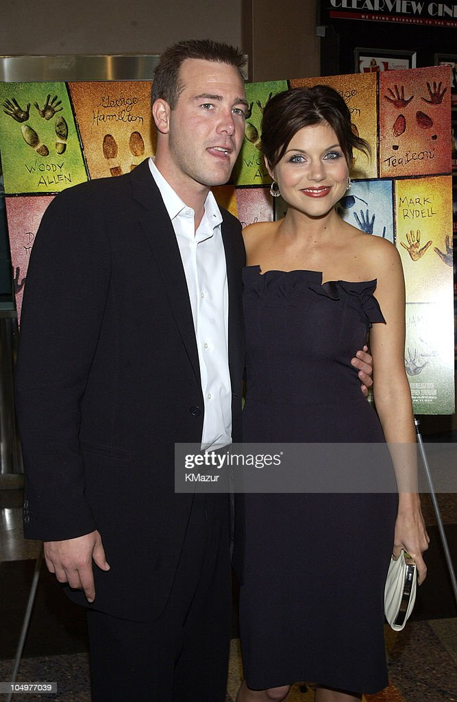 Richard Ruccolo and Tiffani Thiessen during New York Premiere of 'Hollywood Ending' at Chelsea West Theatre in New York City New York United States