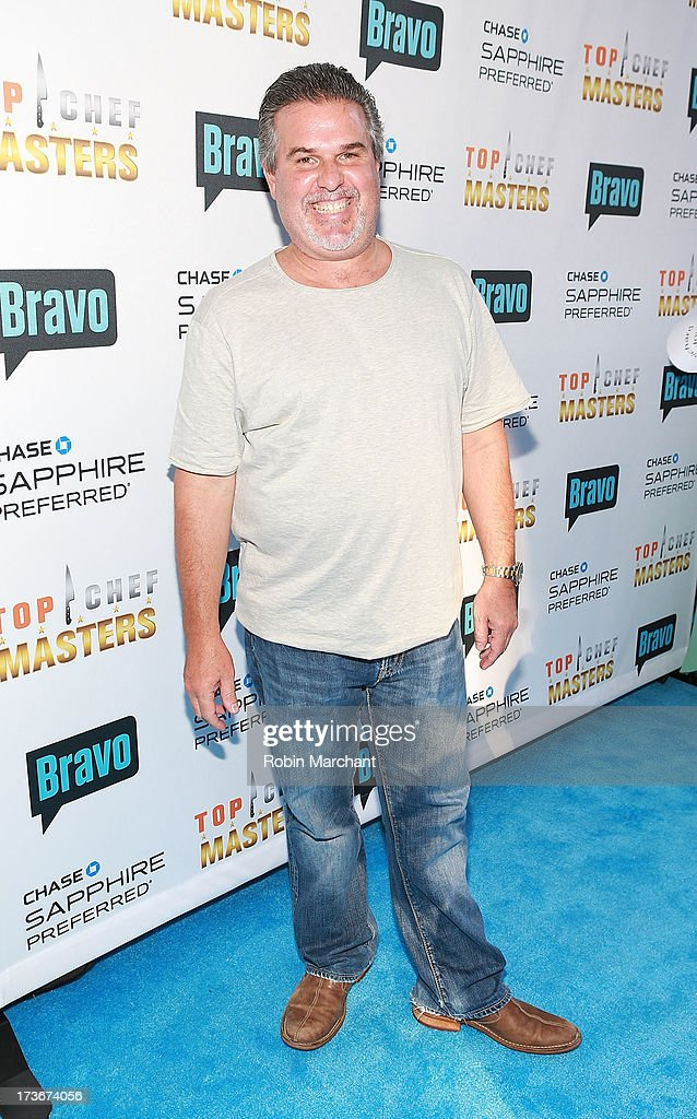 Richard Sandoval attends Bravo's 'Top Chef Masters' Season 5 Premiere Celebration at 82 Mercer on July 16, 2013 in New York City.