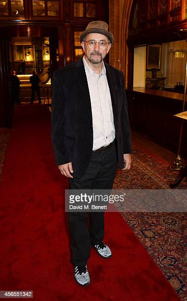 Richard Schiff attends an after party following the press night performance of 'Speed The Plow' at the National Liberal Club on October 2 2014 in...