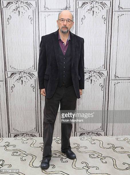 Richard Schiff attends AOL Build Speaker Series Cole Hauser Richard Schiff And Derek Luke 'Rogue' at AOL Studios In New York on March 23 2016 in New...