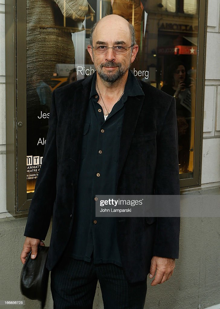 <a gi-track='captionPersonalityLinkClicked' href=/galleries/search?phrase=Richard+Schiff&family=editorial&specificpeople=224824 ng-click='$event.stopPropagation()'>Richard Schiff</a> attends 'The Assembled Parties' Broadway Opening Night at the Samuel J. Friedman Theatre on April 17, 2013 in New York City.