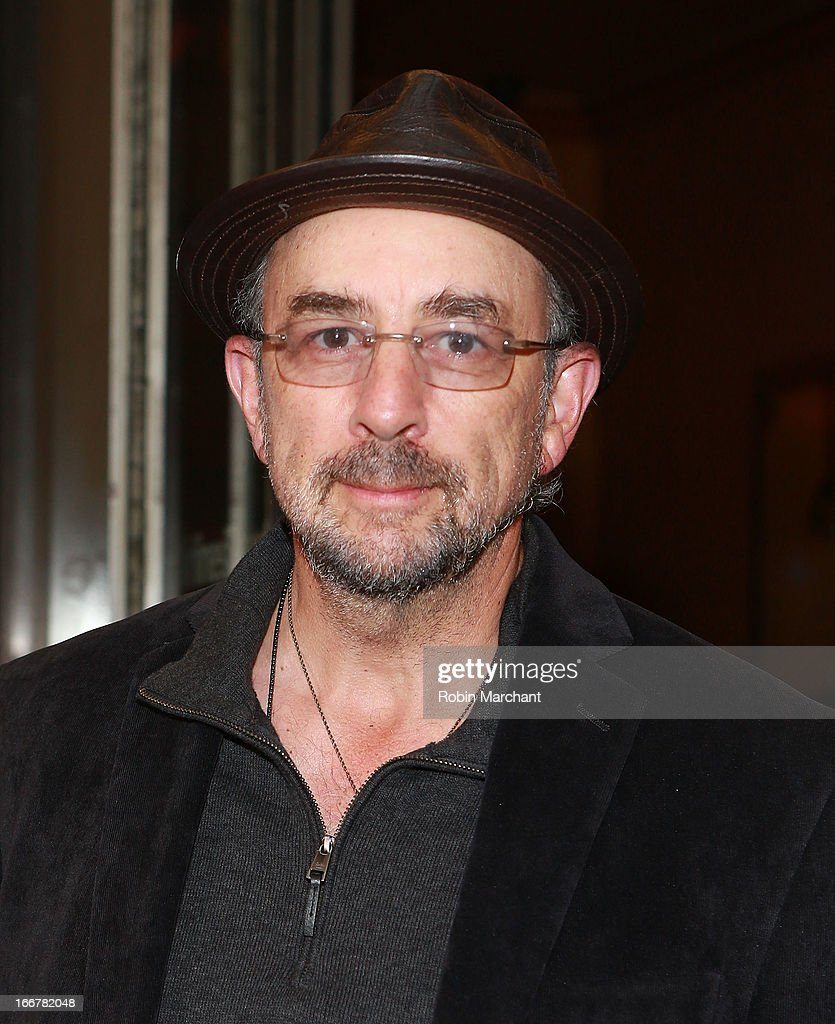 <a gi-track='captionPersonalityLinkClicked' href=/galleries/search?phrase=Richard+Schiff&family=editorial&specificpeople=224824 ng-click='$event.stopPropagation()'>Richard Schiff</a> attends 'The Big Knife' Broadway opening night at American Airlines Theatre on April 16, 2013 in New York City.